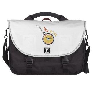 Pocket  Watch  Tick  Tock Laptop Bag
