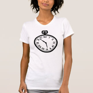 Pocket Watch Womens T-Shirt