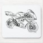 Pocketbike de GRC RR Tapetes De Ratones