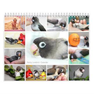 Pocky the cutest lovebird calendar