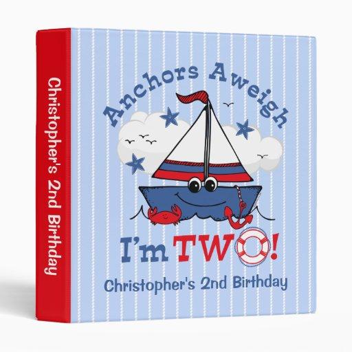 Poco 2do cumpleaños del velero