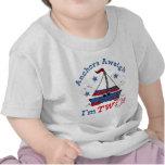 Poco 2do cumpleaños del velero camisetas