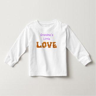 Poco alfabeto del oso de Shirt~Teddy del amor de Playeras