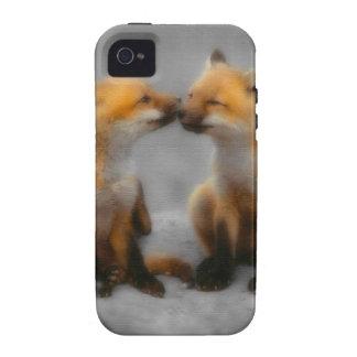 Poco amor del Fox iPhone 4/4S Fundas