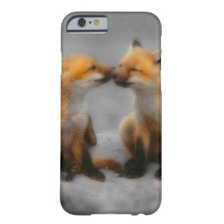 Poco amor del Fox Funda Para iPhone 6 Barely There