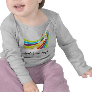 Poco ángel dulce camisetas