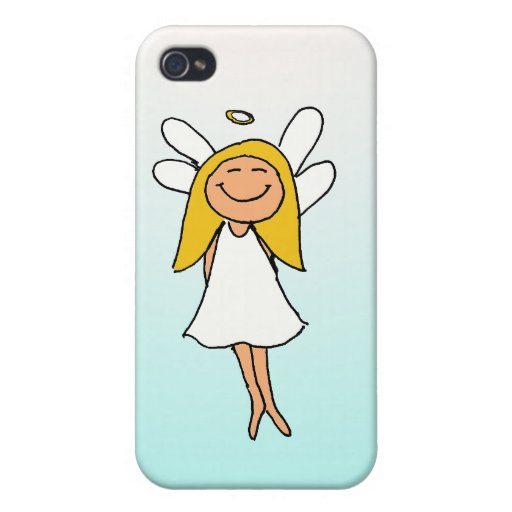 poco ángel iPhone 4 funda