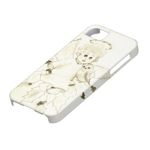 Poco ángel iPhone 5 funda