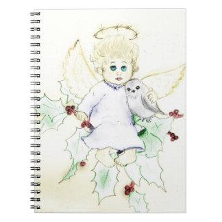 Poco ángel cuaderno