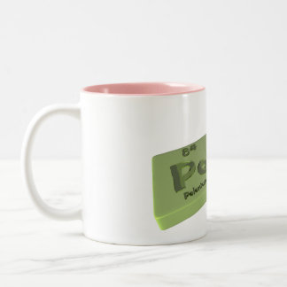 Poco as Po Polonium and Co Cobalt Two-Tone Coffee Mug