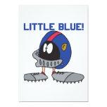 Poco azul invitación 12,7 x 17,8 cm