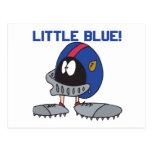 Poco azul postal