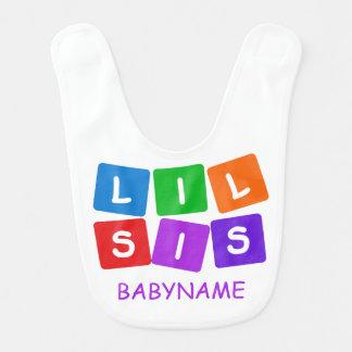 Poco babero de encargo del bebé del SIS