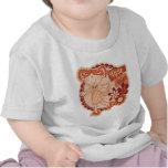 Poco bebé del ángel camiseta