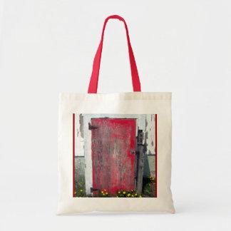 Poco bolso rojo de la puerta bolsas de mano