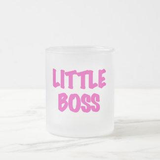 Poco Boss - camisetas y regalos rosados Taza De Cristal