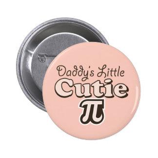 Poco botón de Cutie pi del papá Pin