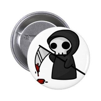 Poco botón de la muerte pin