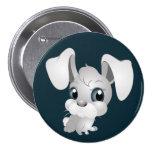 Poco botón del conejito pin