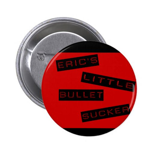 Poco botón del lechón de la bala de Eric Pin Redondo De 2 Pulgadas