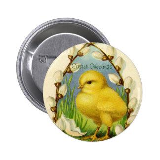 Poco botón del polluelo de Pascua Pin