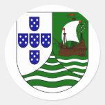 Poco Cabo Verde portugués, Cabo Verde Pegatinas