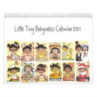Poco calendario minúsculo 2011 de Babycakes