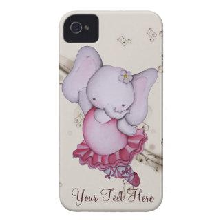 Poco caso del iPhone 4 del elefante de la bailarin iPhone 4 Coberturas