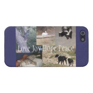 Poco caso del navidad de la granja iPhone 5 protectores