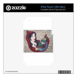 Poco casquillo rojo iPod touch 4G skin