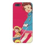 Poco chica del vintage iPhone 5 protector