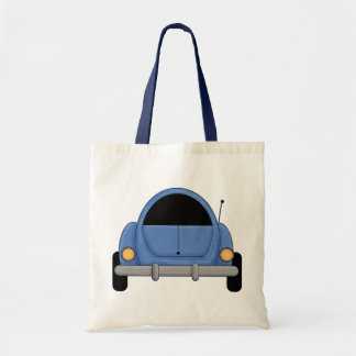 Poco coche azul bolsas