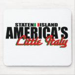 Poco cojín de ratón de Italia de América Tapete De Ratón