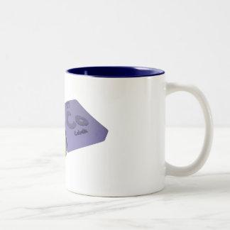 Poco como polonio del Po y cobalto del Co Taza De Café De Dos Colores