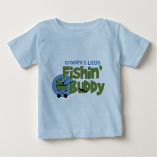 Poco compinche de Fishin del abuelo Tee Shirt
