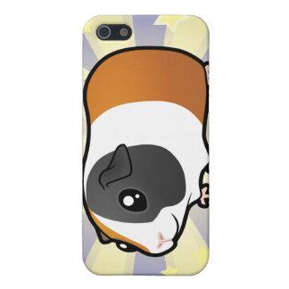 Poco conejillo de Indias de la estrella (pelo liso iPhone 5 Funda