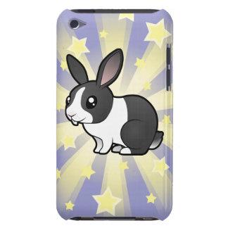 Poco conejo de la estrella (pelo liso del oído upp iPod touch protectores