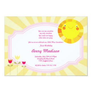 Poco cumpleaños de la fiesta de bienvenida al bebé invitación 12,7 x 17,8 cm