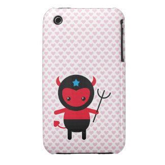 Poco diablo de Ninja del kawaii Case-Mate iPhone 3 Protector