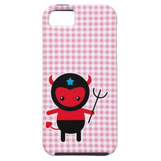 Poco diablo de Ninja del kawaii Funda Para iPhone 5 Tough