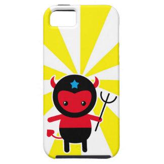Poco diablo de Ninja del kawaii iPhone 5 Fundas