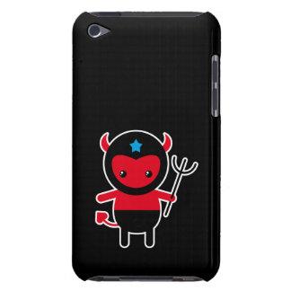 Poco diablo de Ninja del kawaii iPod Case-Mate Protector