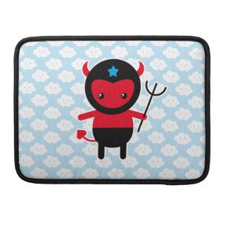 Poco diablo de Ninja del kawaii Funda Macbook Pro
