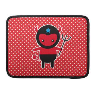 Poco diablo de Ninja del kawaii Fundas Macbook Pro