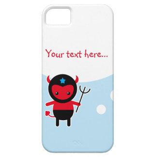 Poco diablo de Ninja del kawaii iPhone 5 Carcasa