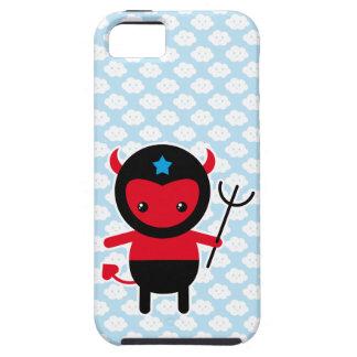 Poco diablo de Ninja del kawaii iPhone 5 Carcasas