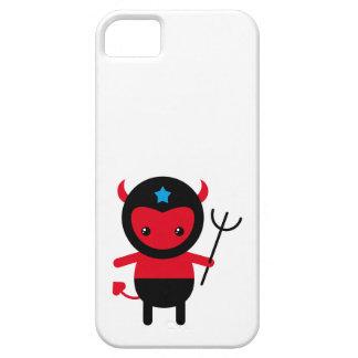 Poco diablo de Ninja del kawaii iPhone 5 Funda