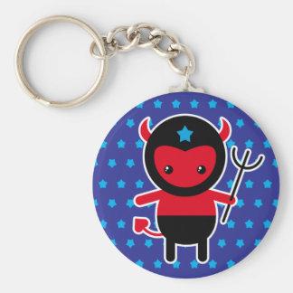 Poco diablo de Ninja del kawaii Llavero
