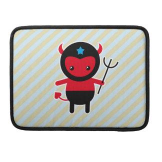 Poco diablo de Ninja del kawaii Fundas Para Macbook Pro