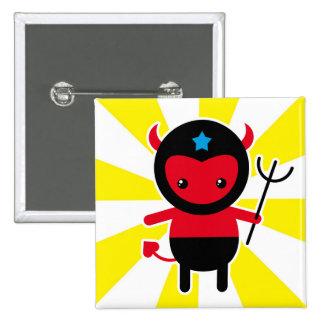 Poco diablo de Ninja del kawaii Pins